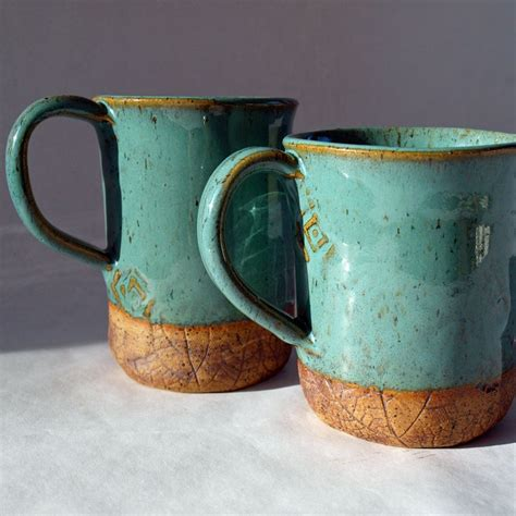 Handmade Pottery Coffee Mugs - mugs handmade ceramic coffee cup