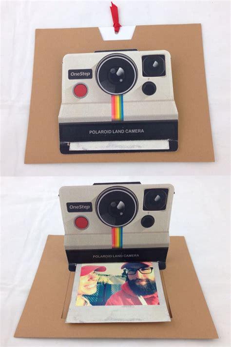 Polaroid Pop Up Card Template by Polaroid Pop Up Card Diy Pinteres