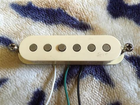 fender scn samarian cobalt noiseless single coil
