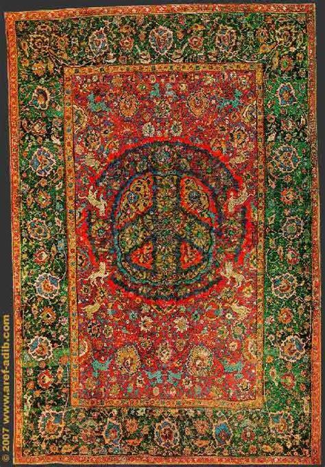 Peace Rug by Aref Adib Peace Rug