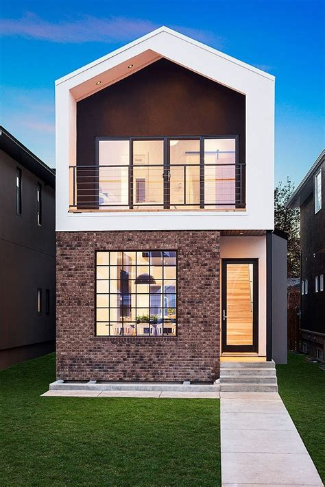 top 10 modern house designs for 2013 narrow home