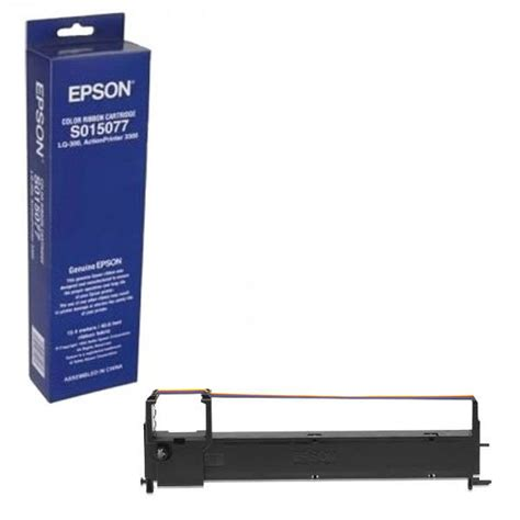 Printer Epson Original Lq300 Lq 300 Lq 300 Lq 300ii New epson colour lq 300 fabric ribbon cartridge s015077 c13s015077