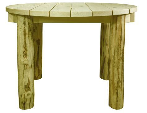 Table Ready by Montana Collection Skip Peeled Patio Table Ready To