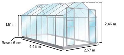 serre uranus serre en verre pour jardin mod 232 le uranus 11 45 m 178 lams