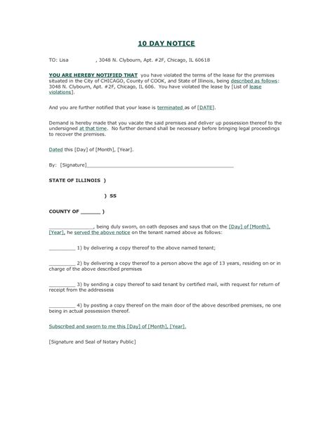 search results for eviction notice template free
