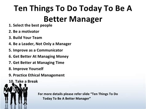 8 Things To Look For In A Great by Need For Managers