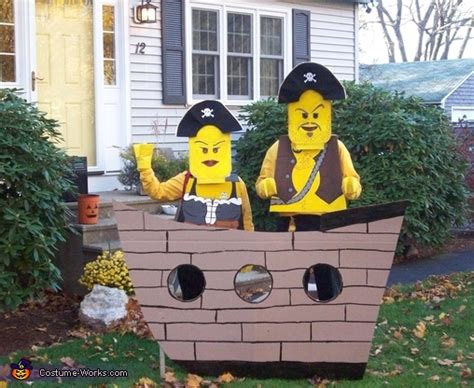 lego pirates  pirate ship homemade halloween costumes