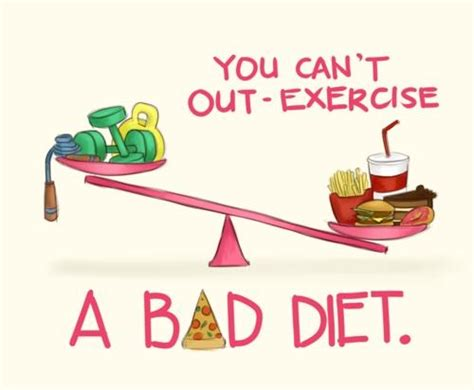 10 Words To Remember For A Healthy by Health Diet Vs Exercise What S More Important Your