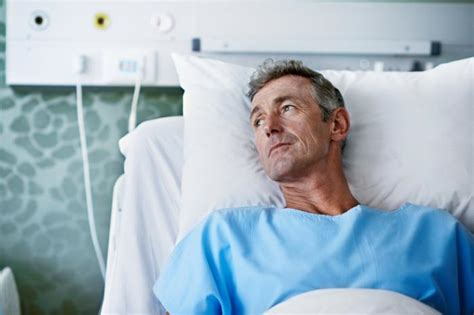 guy in hospital bed c difficile risk raised by using same hospital bed as