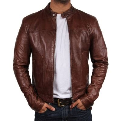 Jaket Kulit Wolverine By E Shop 26 s brown leather jacket asasin