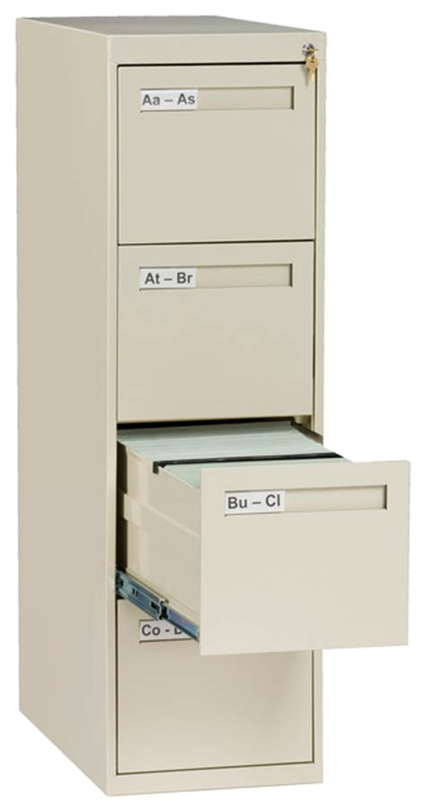 4 drawer letter size vertical file cabinet contemporary