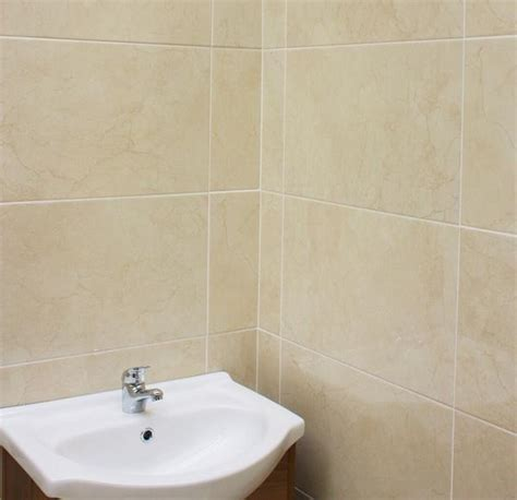 cream wall tiles   beautiful marble effect
