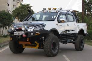 Isuzu 4x4 Isuzu D Max V Cross 4 215 4 Gets A Monster Custom