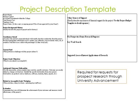 project description template definition essay free essay writing tips request exle