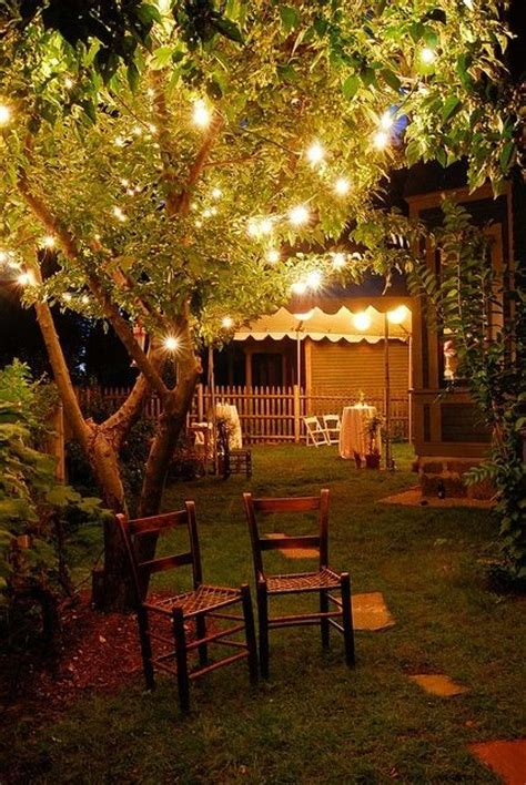 Lighting For Backyard by Low Budget Garden Decorations Ideas For Garden