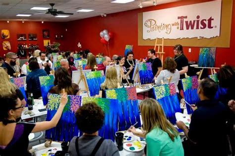 paint with a twist keller painting with a twist wine franchise comes to