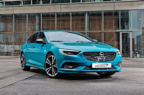 opel insignia 2017 opel insignia exclusive pack announced commodore