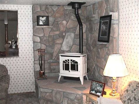 wood stove ideas living rooms corner wood stove ideas white enviro connected to 8 quot wood stove pipe living room