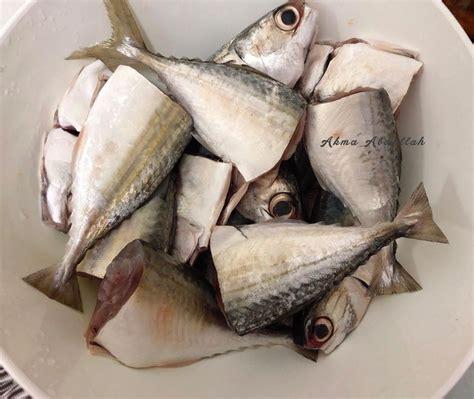 resipi lauk kampung asam pedas ikan kembung  mudah
