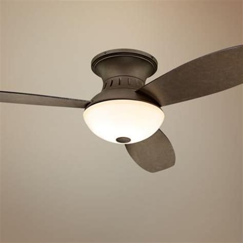 hugger ceiling fans with remote ceiling fans and bronze on