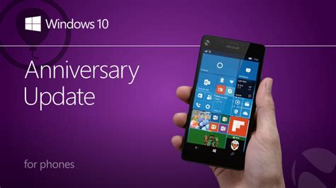 windows 10 mobile update starts rolling out for microsoft windows 10 mobile anniversary update will start rolling