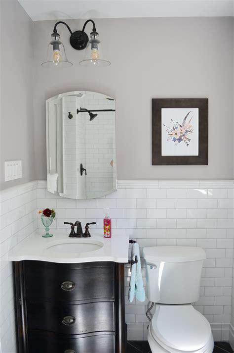 1930s bathroom remodel reveal is sweet as a