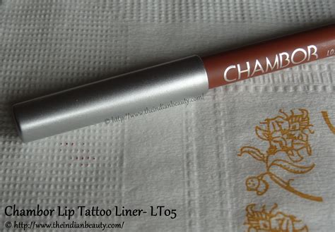 chambor eye tattoo liner buy online chambor lip tattoo liner lt05 review swatches the
