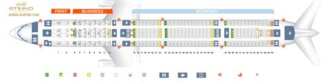 etihad airways seat map seat map airbus a340 600 etihad airways best seats in the