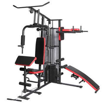 Banc De Musculation Optimalp by Es 409 Multi Strength Fitness 4 Station Home Equipment