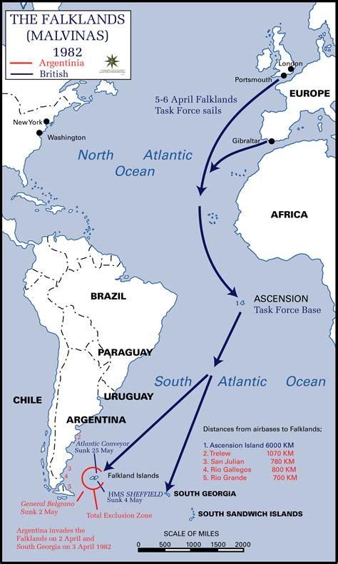 Falkland L by 1982 Second Falklands War The Falkland Islands History