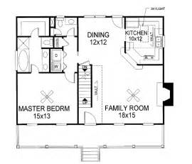 Floor Plans For Cape Cod Homes House Plan 92423 At Familyhomeplans Com