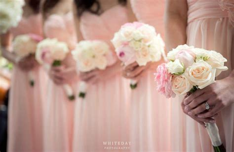Bridesmaid Bouquet by Bouquets For Bridesmaids Budget Blooms
