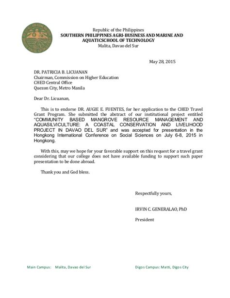 Philippine Embassy Authorization Letter Letter Of Authorization