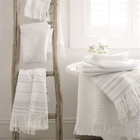 Bathroom Towel Ladder Rustic Ladder As A Towel Holder Inspirations For Your Home Pinterest Shades Of White