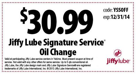 how much is a jiffy lube change jiffy lube how much is an change buca di beppo coupon