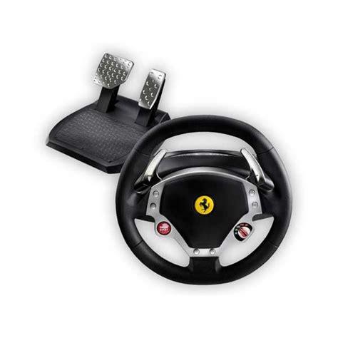 volante pc feedback thrustmaster f430 feedback racing wheel