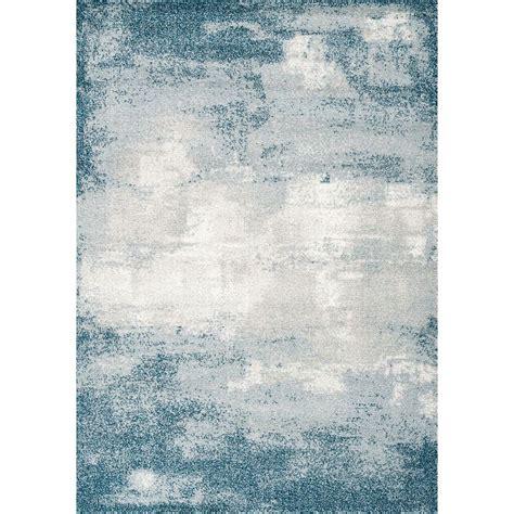 medium teal gray  cream area rug sable rc