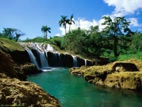 Download El Nicho Falls Sierra De Trinidad Cuba Wallpaper