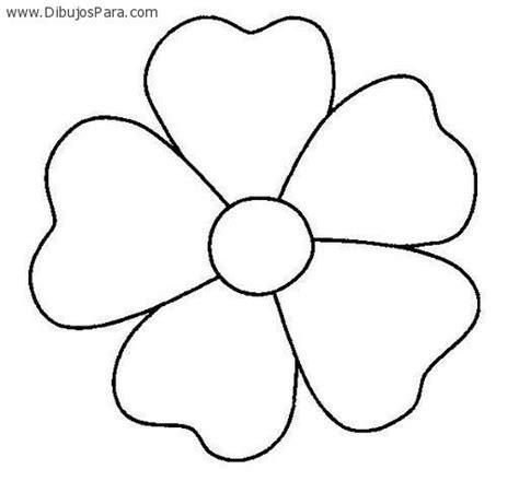 dibujo de cachorro con una flor en la boca para colorear dibujo de flor de cinco petalos ideas para el hogar