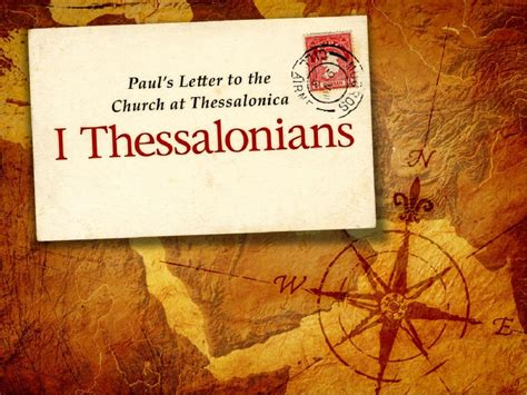 The Book Of Paul 1 thessalonians