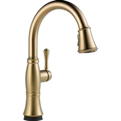 Delta Cassidy Pull Faucet by Delta Cassidy Single Handle Pull Kitchen Faucet With