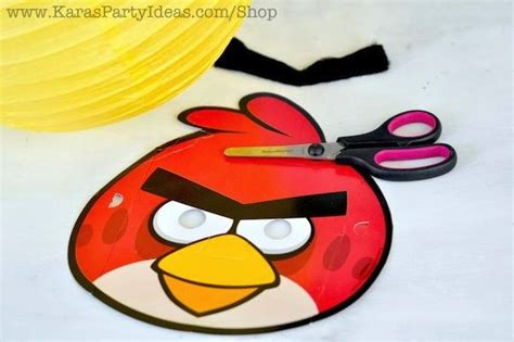 angry birds printable masks images