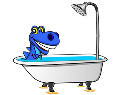 Dinoplatz Bath Time For Dino about billy blue hair billy blue hair answers