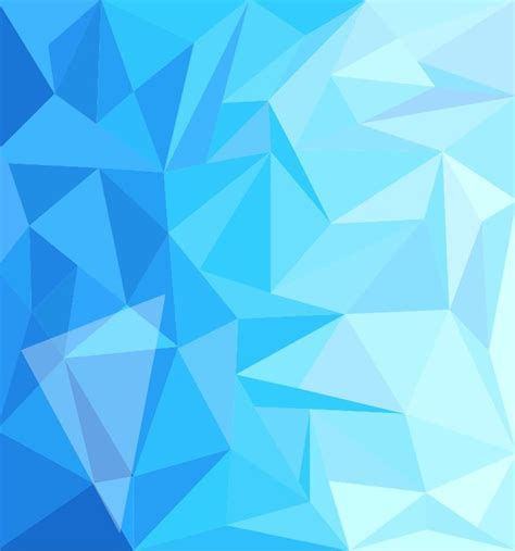 design abstract blue low poly design abstract background vector