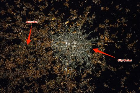light emitting diodes nasa astronaut s pictures of cities from space shows the problem with led lighting
