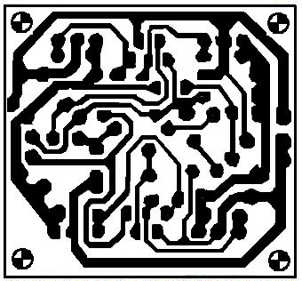 Pcb 60w Power 200w transistor audio lifier circuit