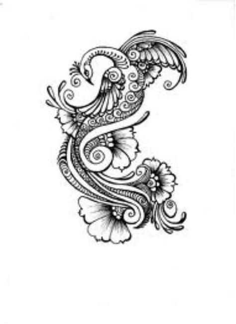 mehndi pattern drawing 97 best peacock designs images on pinterest peacock