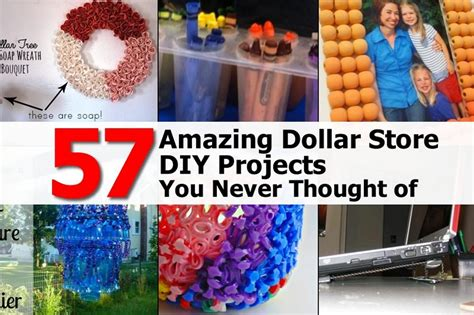 diy dollar store projects 57 amazing dollar store diy projects you never thought of