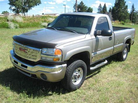 2003 gmc 2500 mpg 2003 gmc 2500hd sle 2dr standard cab 4wd lb in