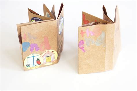 Book Paper Crafts - diy mini book crafts for pbs parents pbs